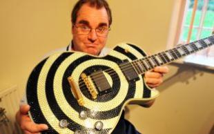 Swarovski Crystal Guitar
