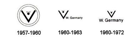 Hummel Marks - 1957 to 1972 - TMK-3