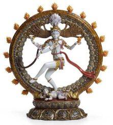 Lladro Shiva Nataraja sculpture