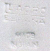 Lladro Mark - 1960 to 1963