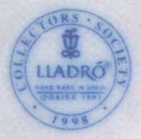 Lladro Collectors Society Mark